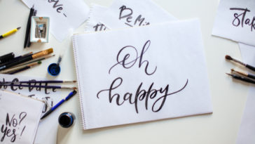 calligraphy paper